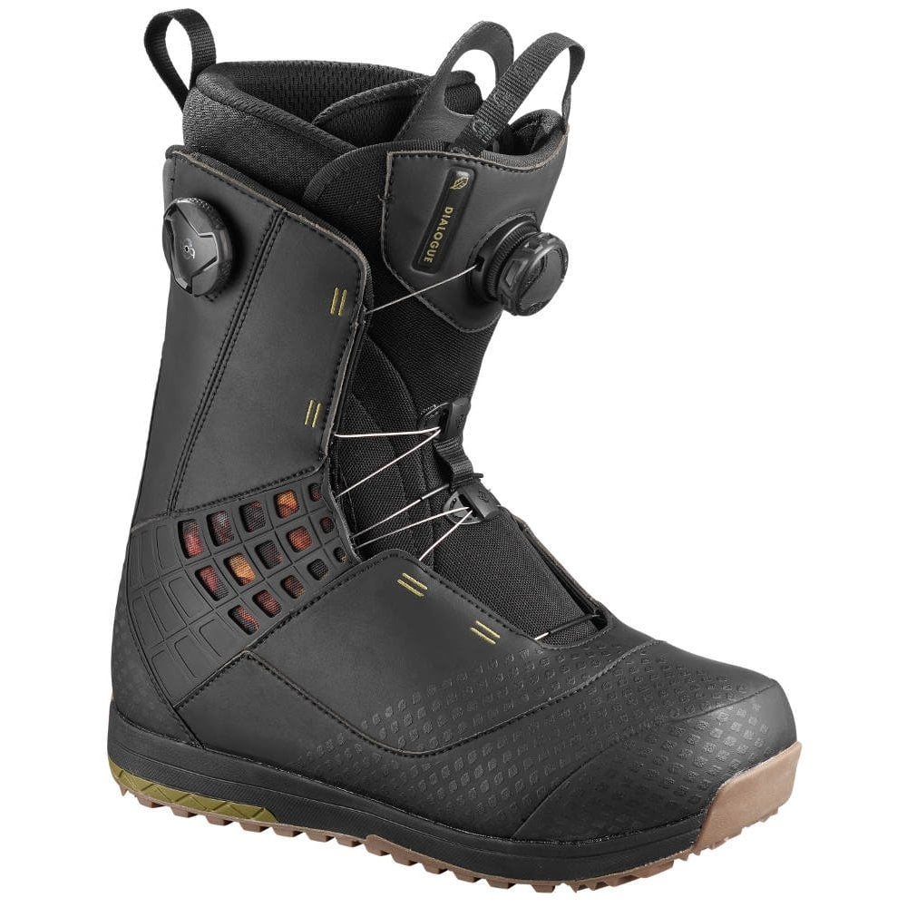Salomon Dialogue Focus Boa Boots Black 2019