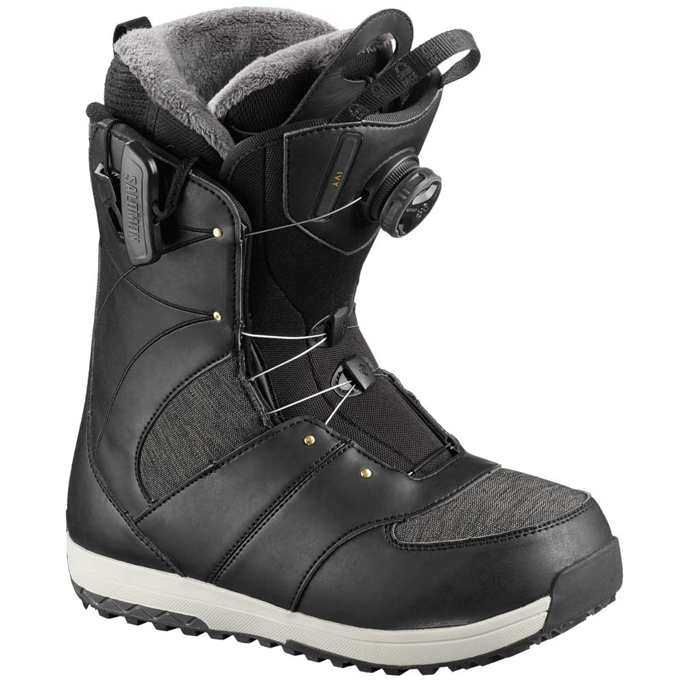 Salomon Ivy Boa Str8Jacket Ladies Boots Black 2019