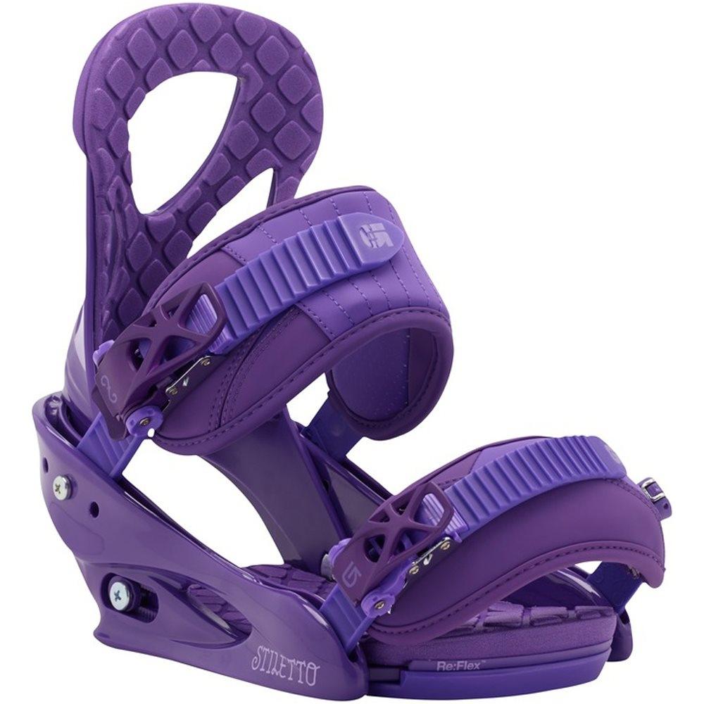Burton Stiletto Re Flex Binding Purple 2016