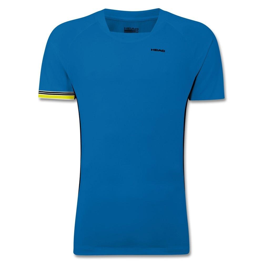 Head Drive Tennis T-Shirt Blue Court Black
