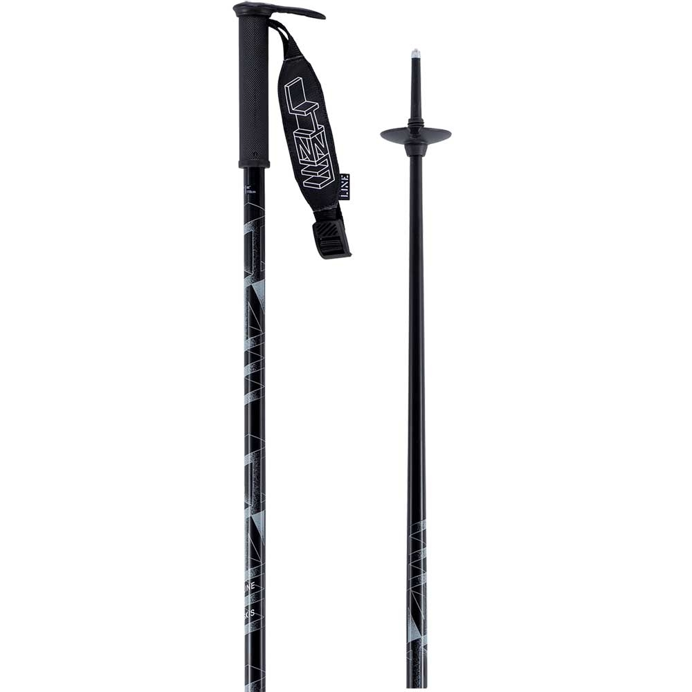Line Wallischstick Ski Pole Black 2019