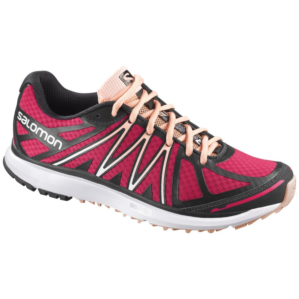 Salomon X-Tour W Running Shoe Dynamic White Mallow Pink
