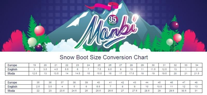 Manbi Space Boot Purple 2012