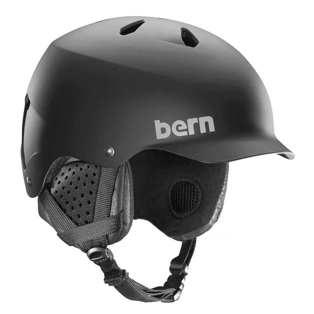 Bern Watts Helmet Matte Black 2019