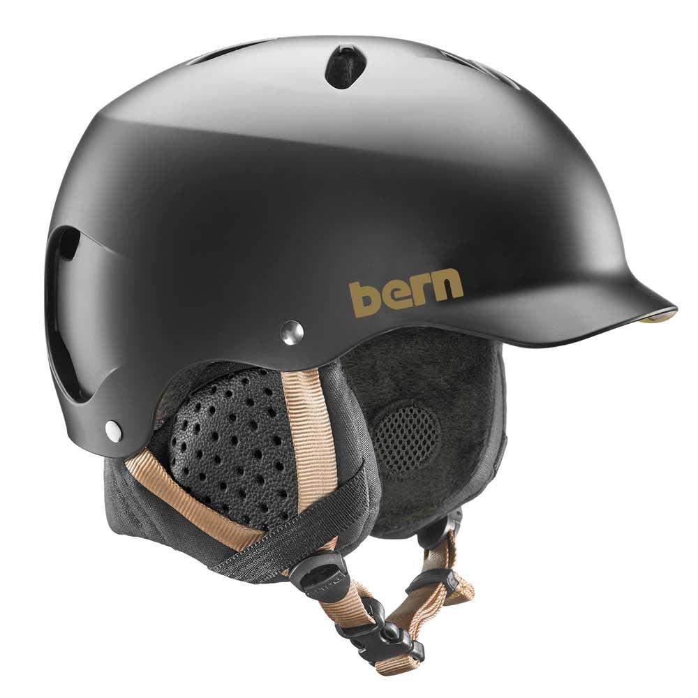 Bern Lenox Womens Helmet Satin Black 2019