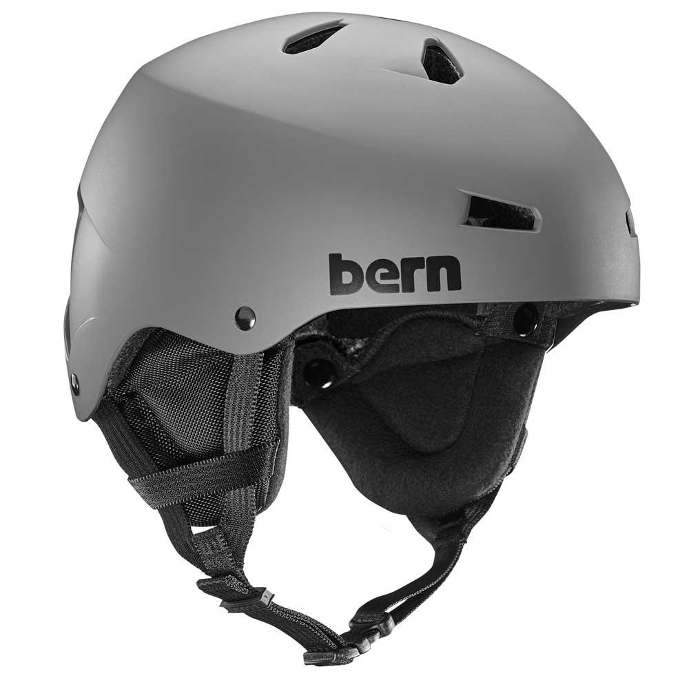 Bern Macon Helmet Matte Grey 2019