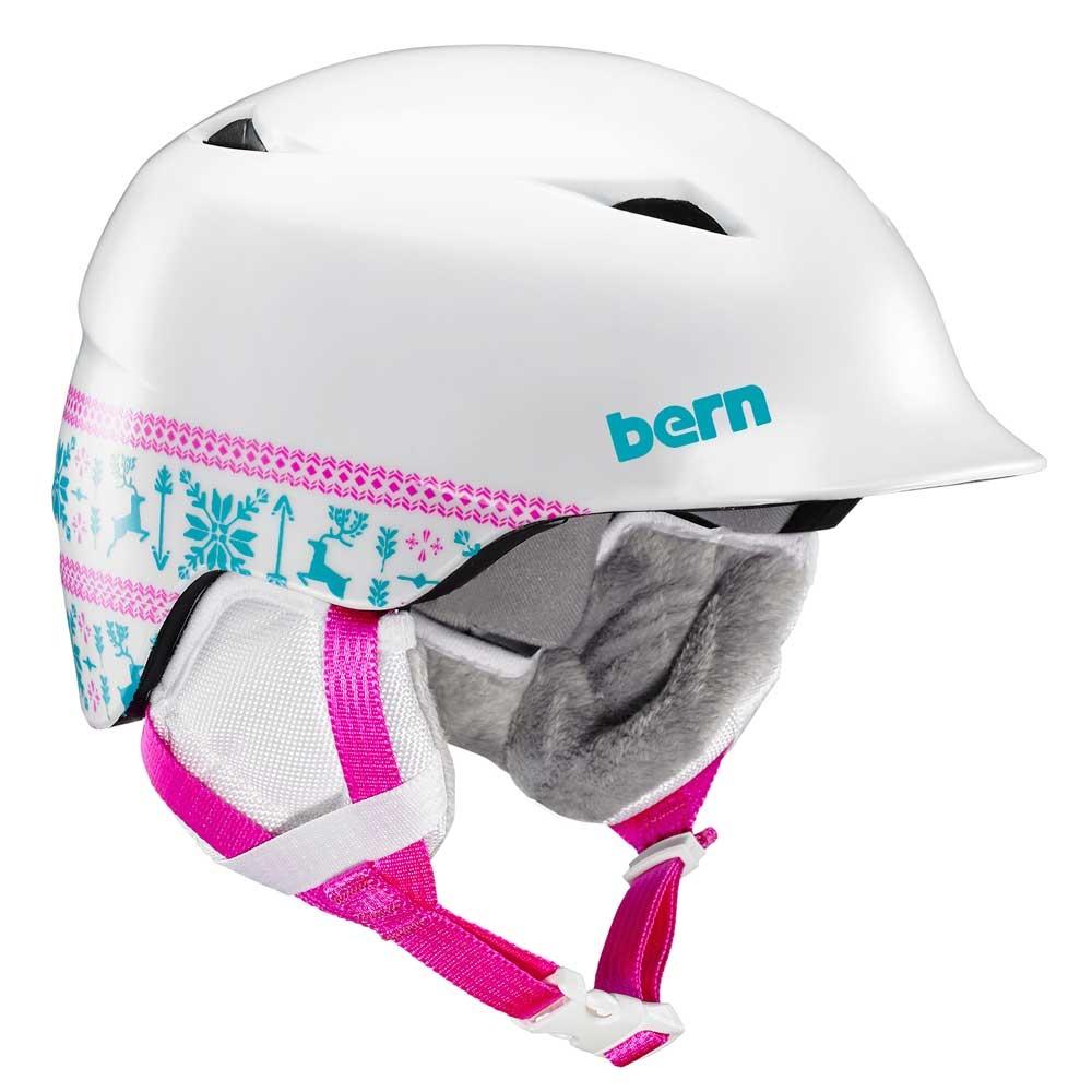 Bern Camino Jr Unisex Helmet Satin White Fair Isle 2019