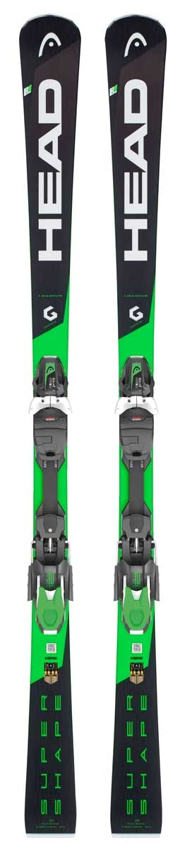 Head Supershape I Magnum Ski with PRD 12 GW Binding 2019