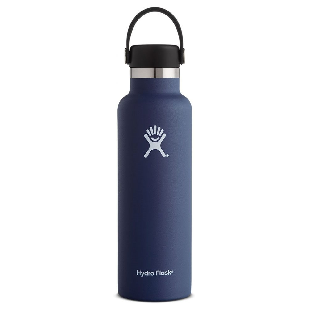 Hydro Flask 21oz Standard Mouth Water Bottle with Flex Cap Cobalt