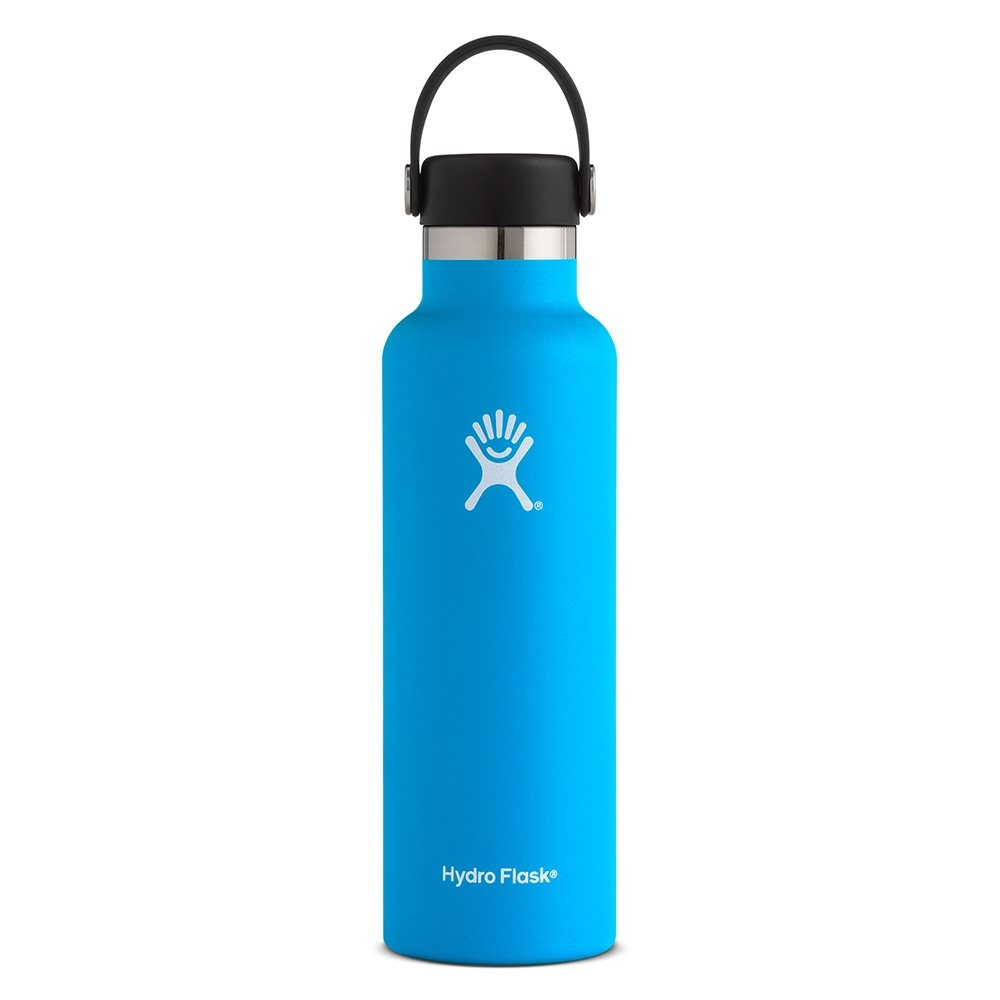 Hydro Flask 21oz Standard Mouth Water Bottle with Flex Cap Pacific