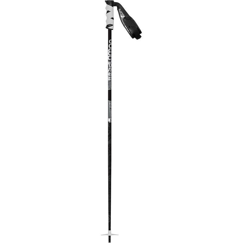 Salomon Hacker Black and White ski Pole 2014