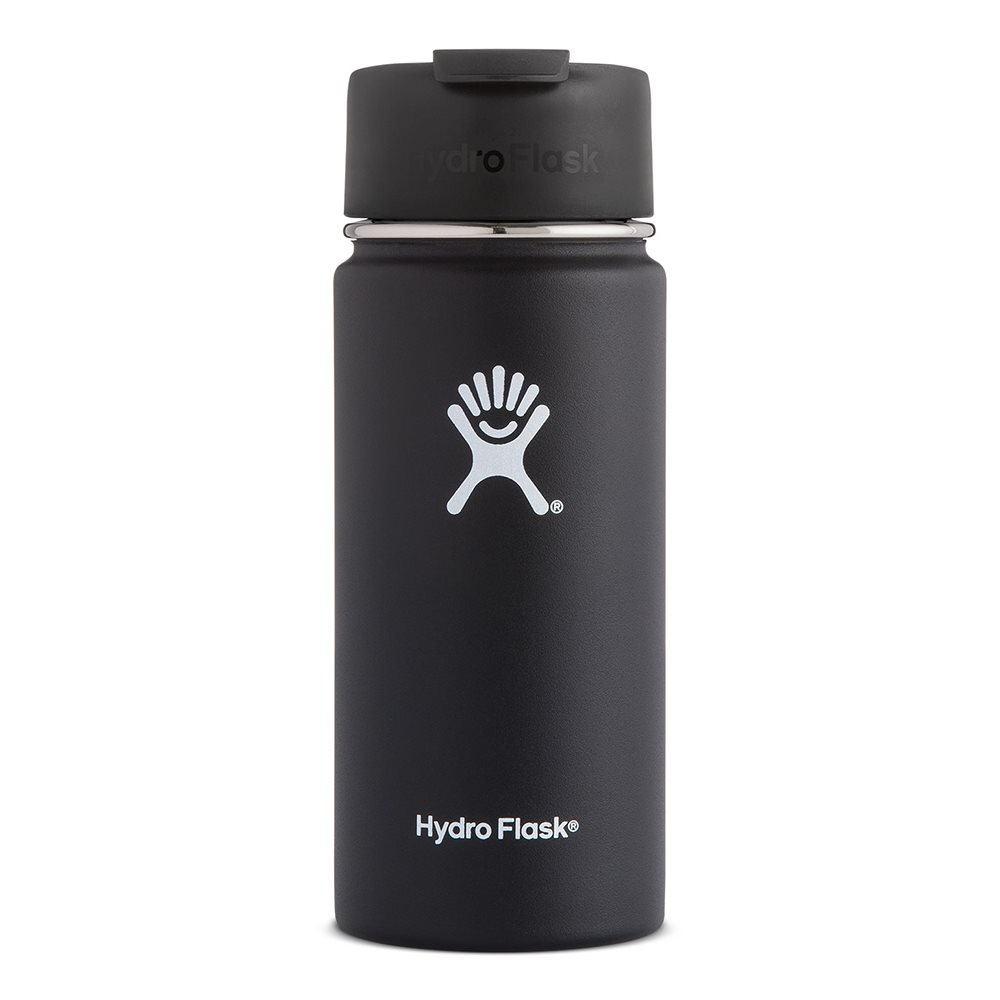 Hydro Flask 16oz Coffee Flask Black