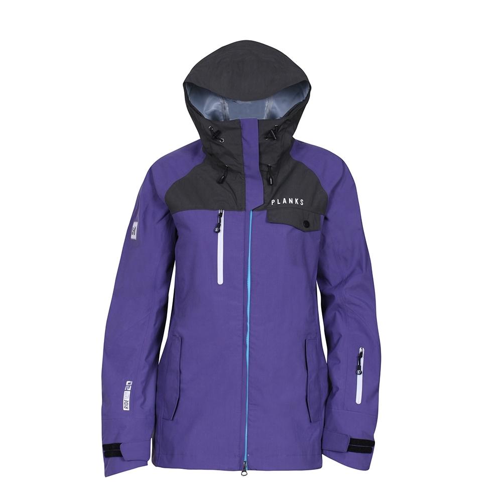 Planks Yeti Hunter 3L Womens Jacket Purple 2017
