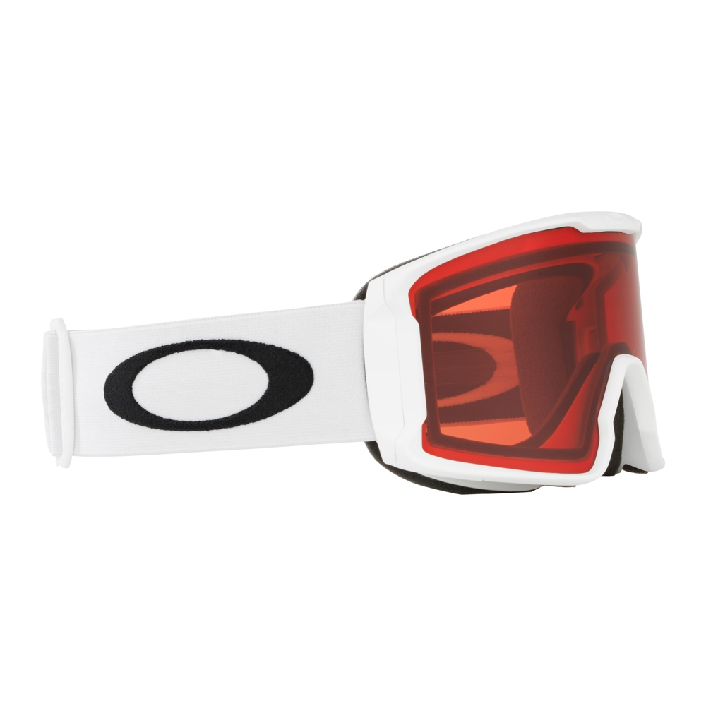 Oakley Line Miner XM Matte White Goggle with Prizm Rose Lens 2019