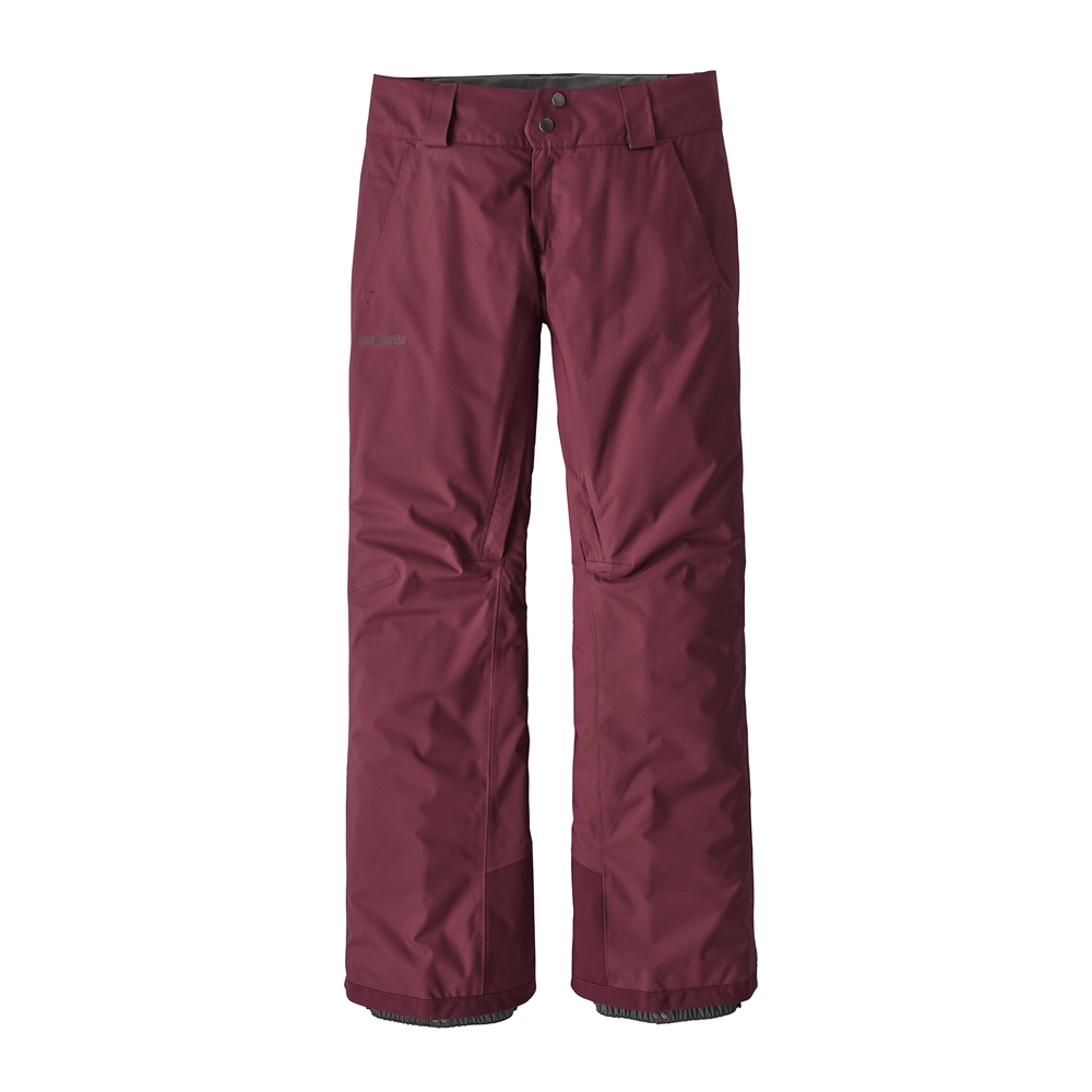 Patagonia Insulated Snowbelle Womens Pant Dark Currant 2019