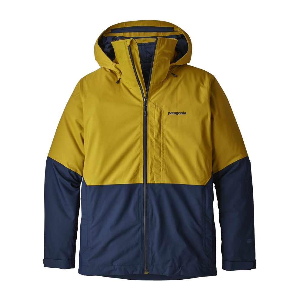 d34bcb623 Patagonia 3 in 1 Snowshot Mens Jacket Textile Green 2019 - Snowtrax