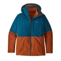 Patagonia 3 in 1 Snowshot Mens Jacket Big Sur Blue 2019