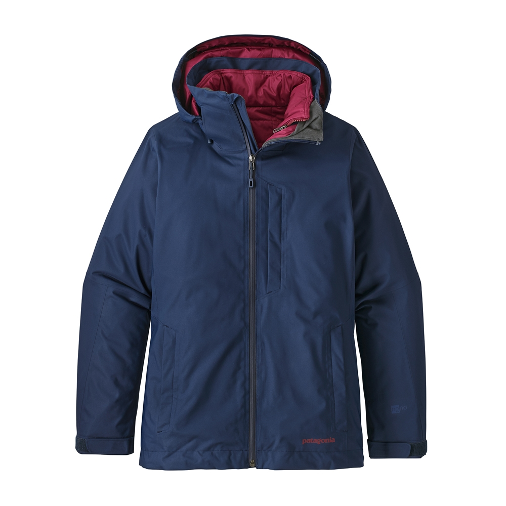 Patagonia 3 in 1 Snowbelle Womens Jacket Classic Navy 2019