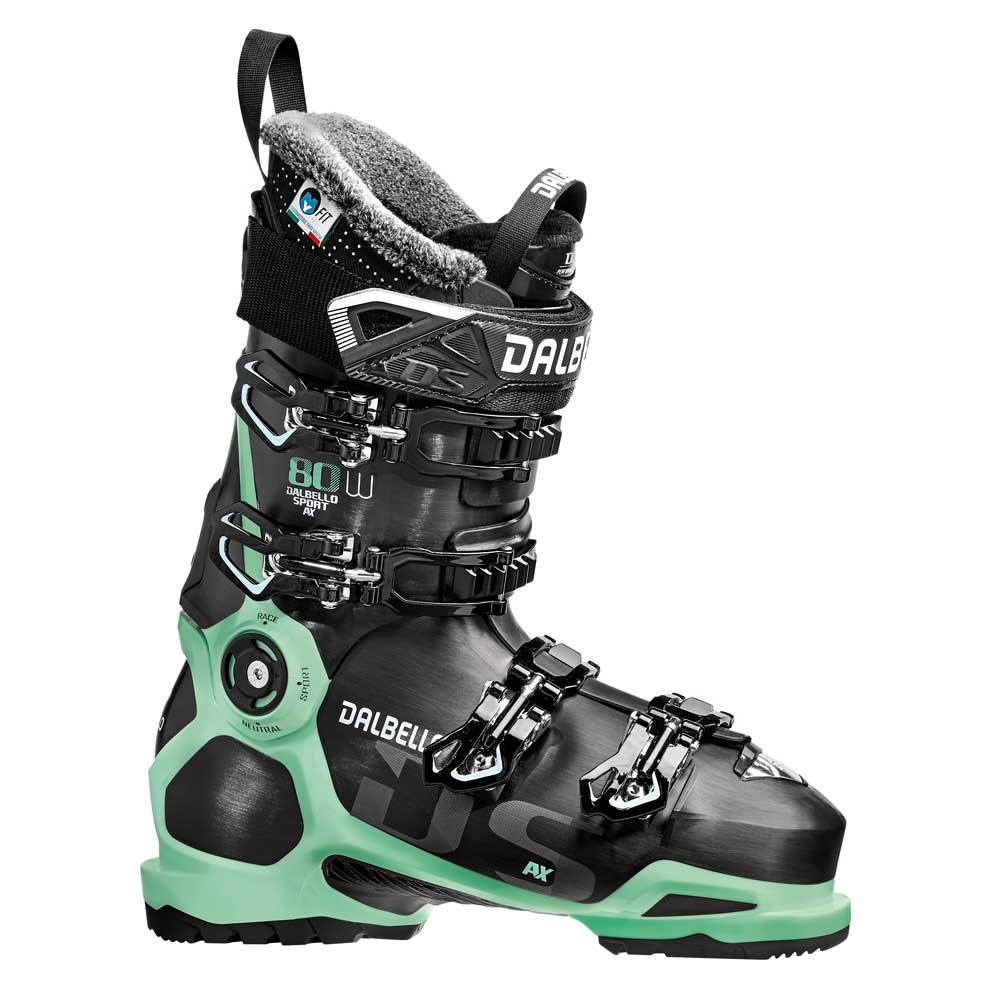 Dalbello DS AX 80 W Ski Boot Black/Glacier Blue 2019