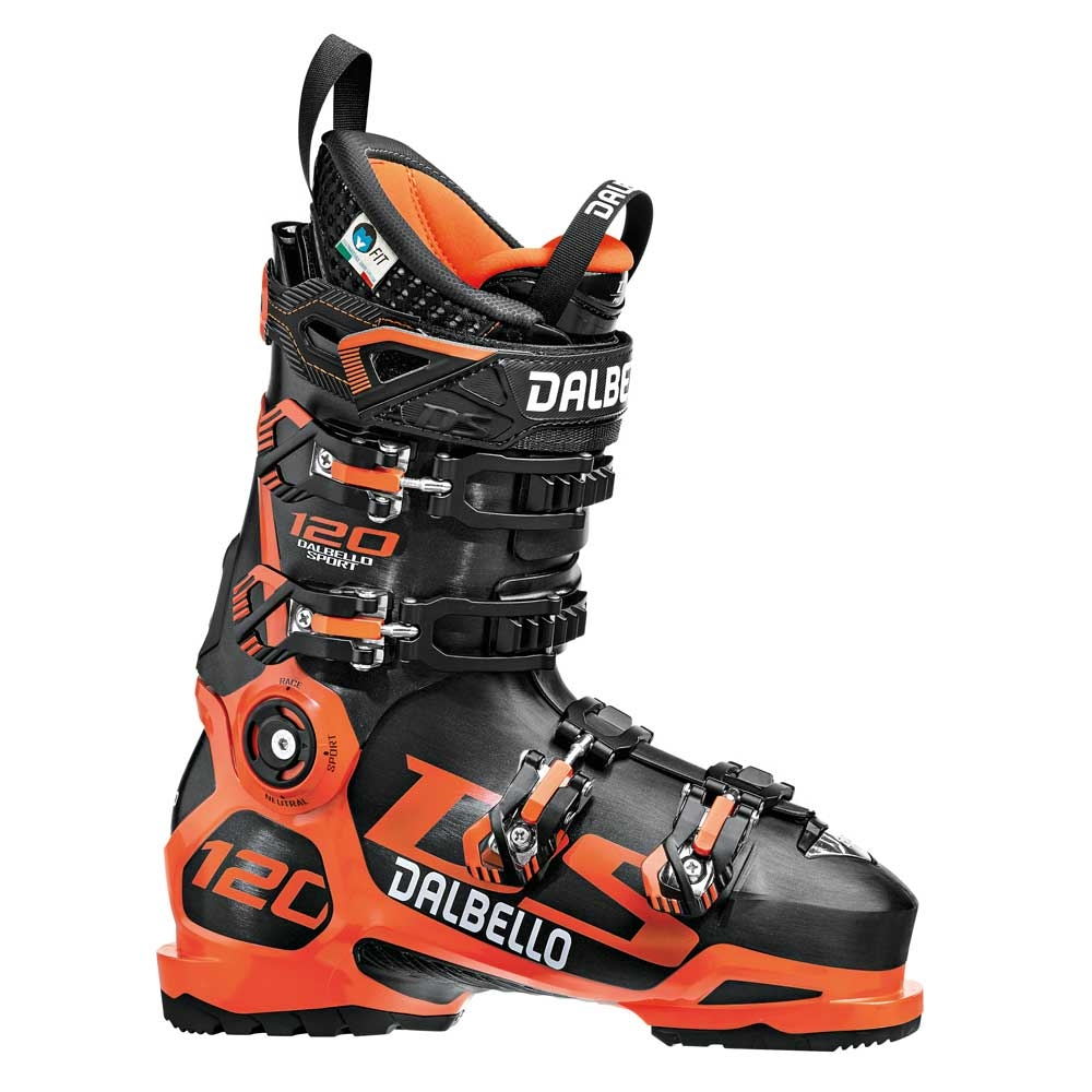 Dalbello DS 120 Ski Boot Black/Orange 2019
