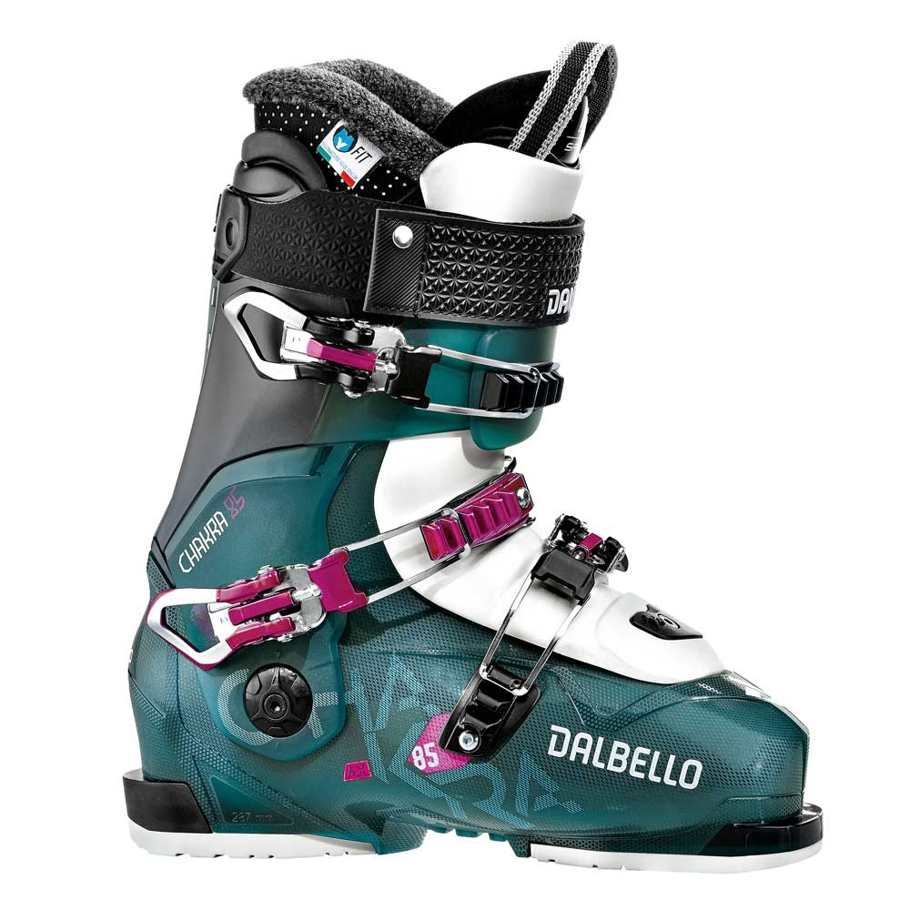 Dalbello Chakra AX 85 Ski Boot Blue Trans/Black 2019