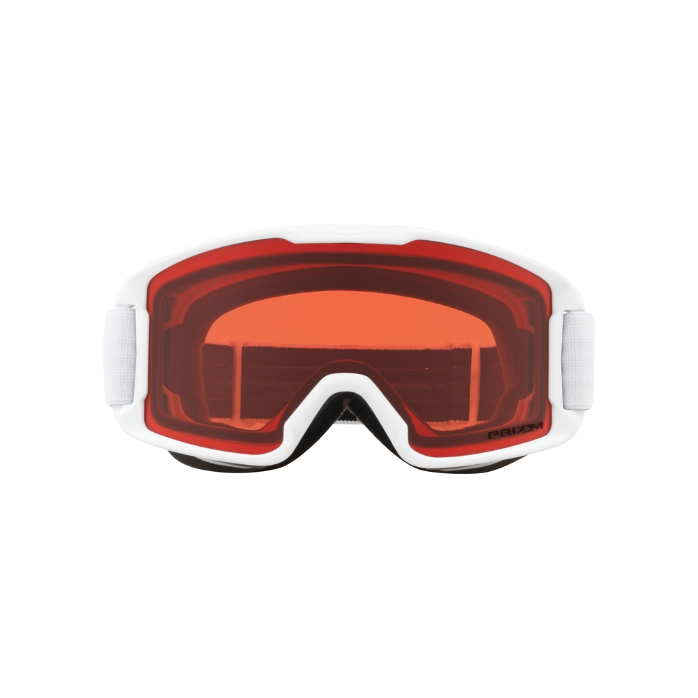 Oakley Line Miner Youth Matte White Goggle with Prizm Rose Lens 2019