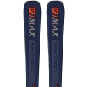 Salomon S Max 12 Skis with Z12 Bindings 2019