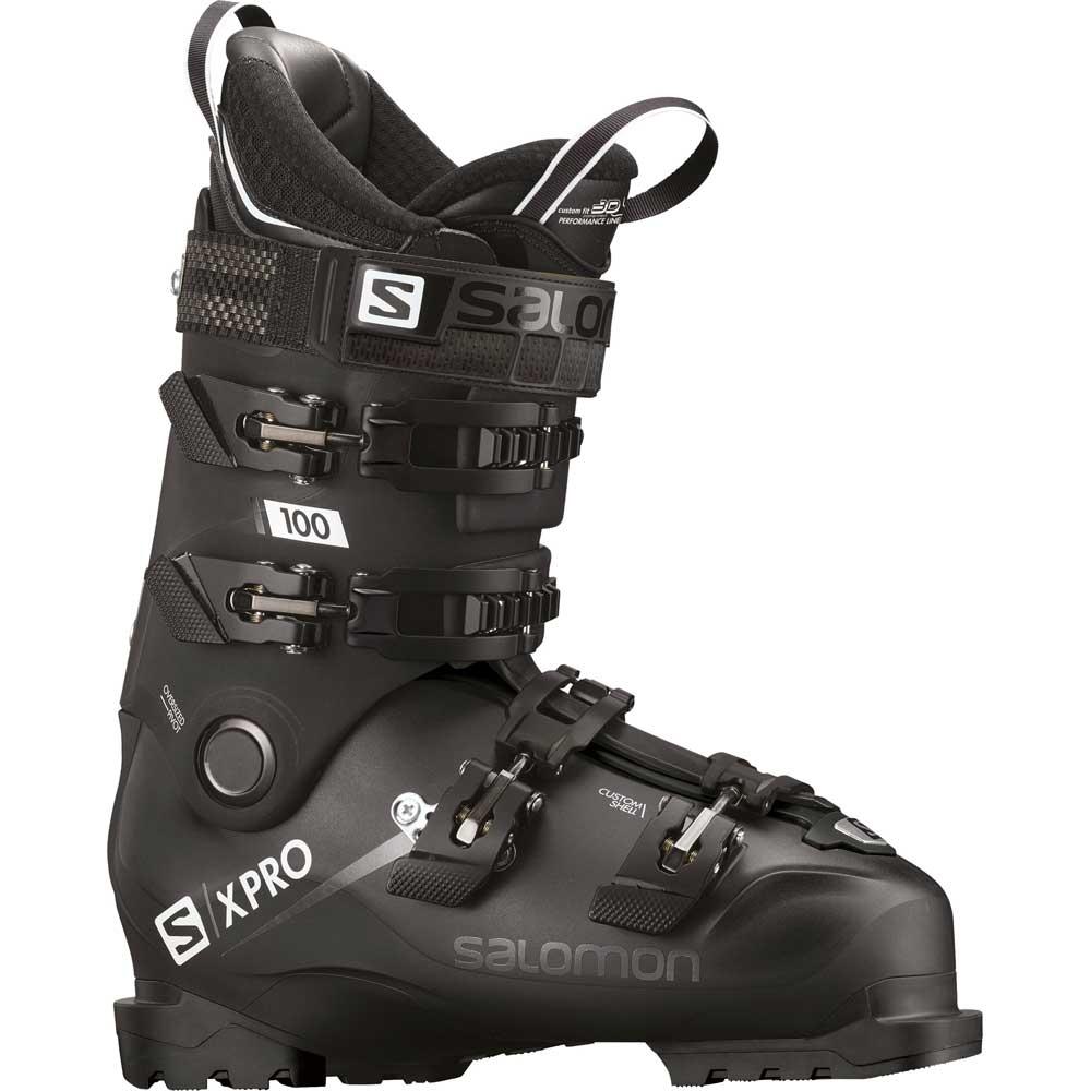 Salomon X Pro 100 Ski Boot Black Metal Black 2019