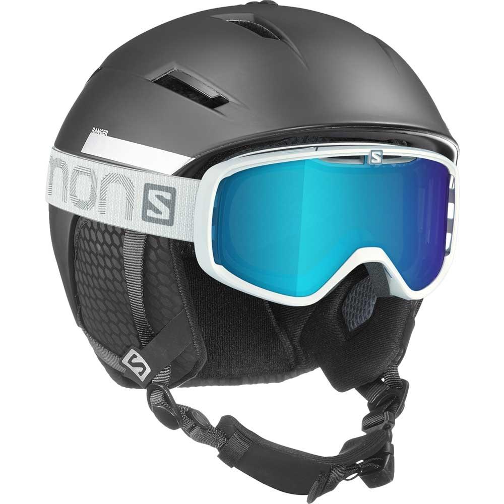 sold worldwide clearance prices new cheap Salomon Ranger2 Helmet Black 2019 - Snowtrax