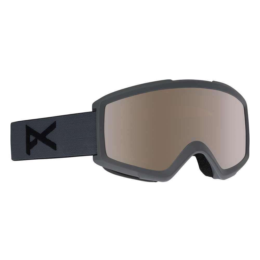Anon Helix 2 0 Stealth Goggle Silver Amber w/spare 2019