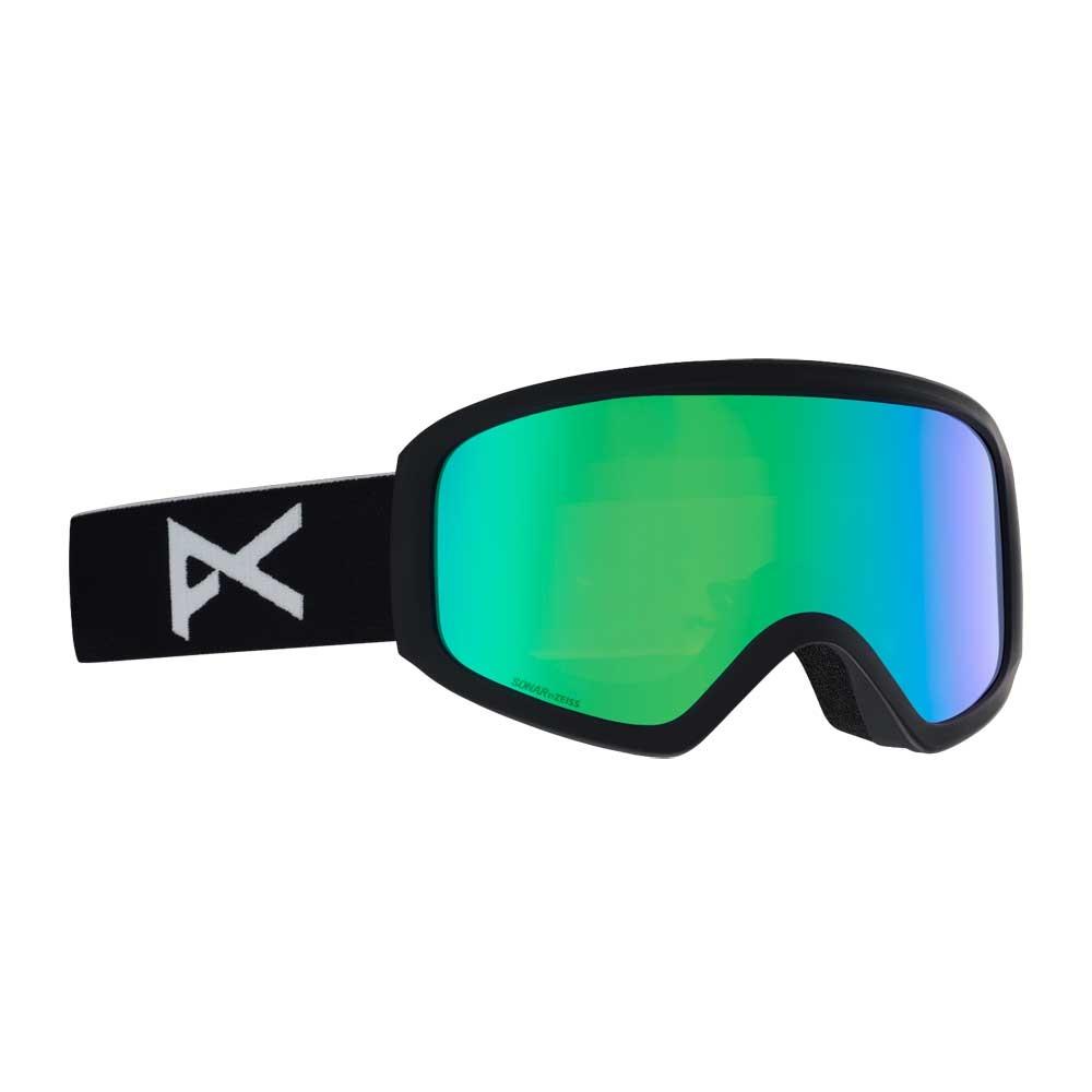 f0e06d7a745 Salomon XT One Photo Black Goggle + All Weather Blue Lens - Snowtrax