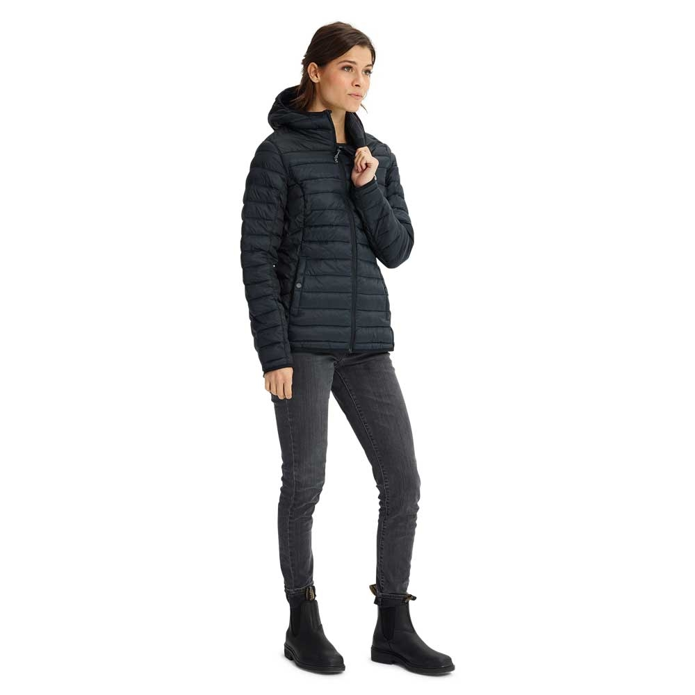 Burton Womens Evergreen Synthetic Hooded Insulator Black 2019