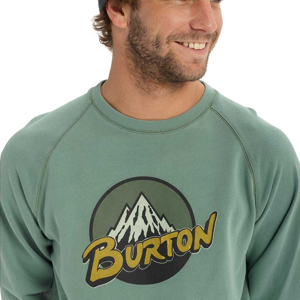 Burton Retro Mountain Organic Crew Lily Pad 2019