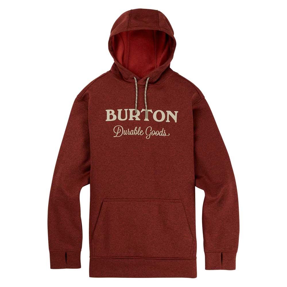 Burton Oak Pullover Hoodie Bitters Heather 2019