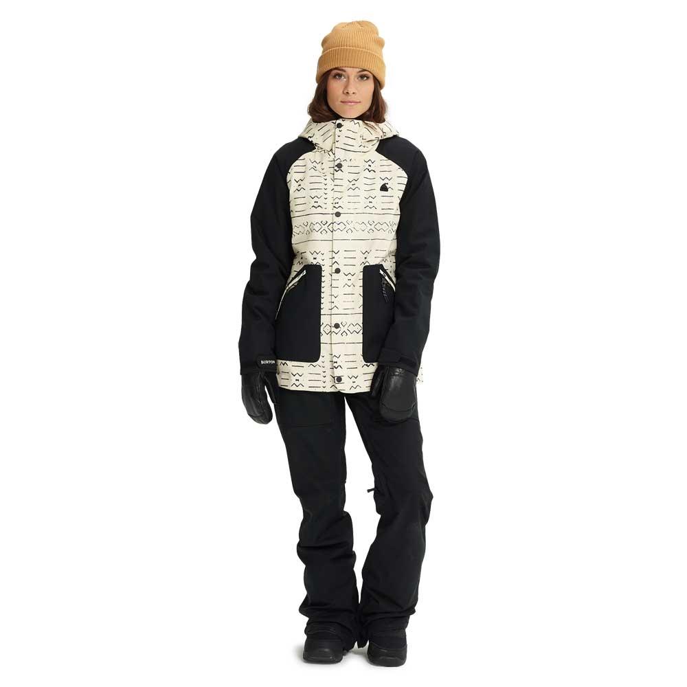 Burton Eastfall Womens Jacket Canvas Bogolanfini / Black 2019