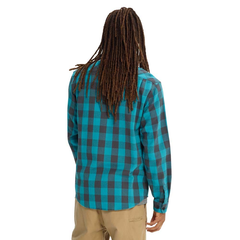 Burton Brighton Burly Flannel Shirt Tahoe Heather Buffalo 2019