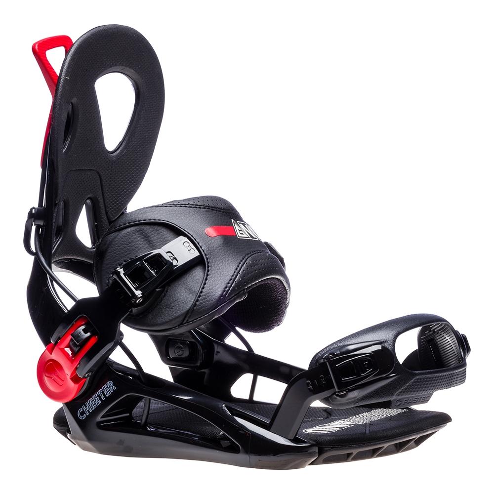 Gnu Cheeter Snowboard Binding Black 2019