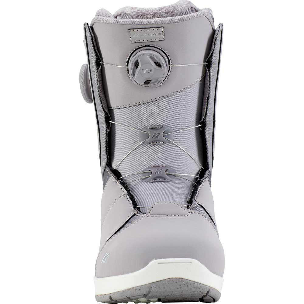 K2 Contour Snowboard Boot Lavender Grey 2019
