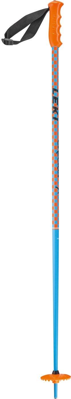Leki Checker X Jr Ski Pole Blue 2017
