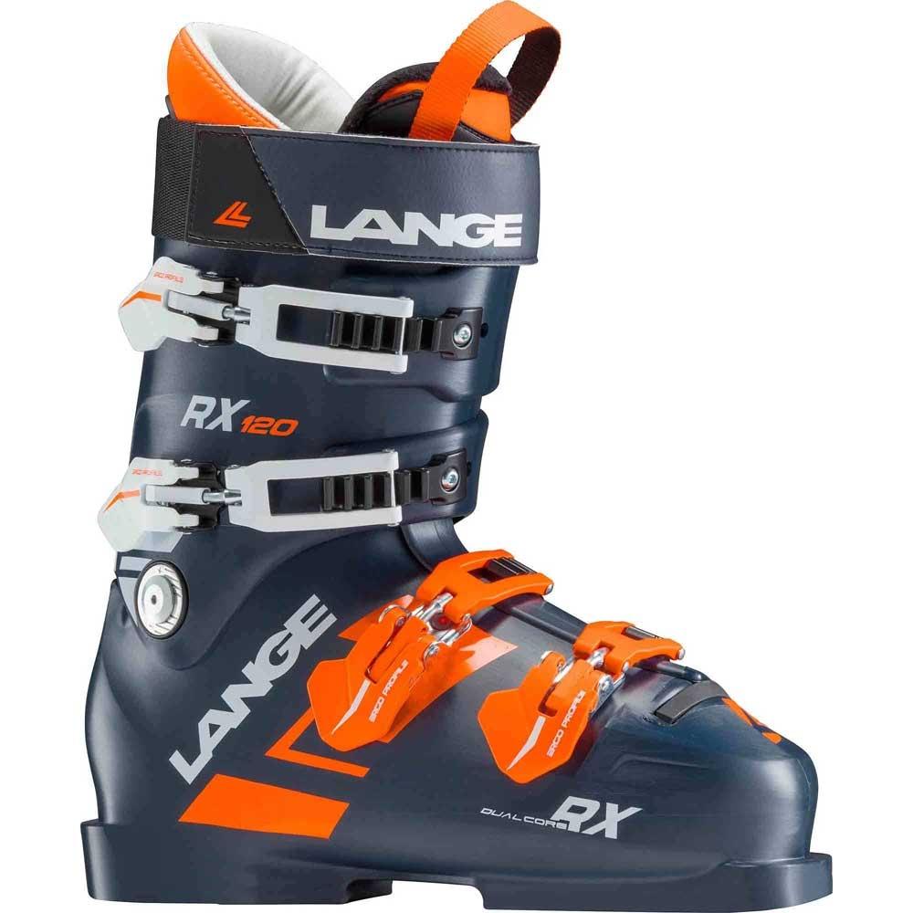 Lange RX 120 Ski Boot Dark Blue/Orange 2019