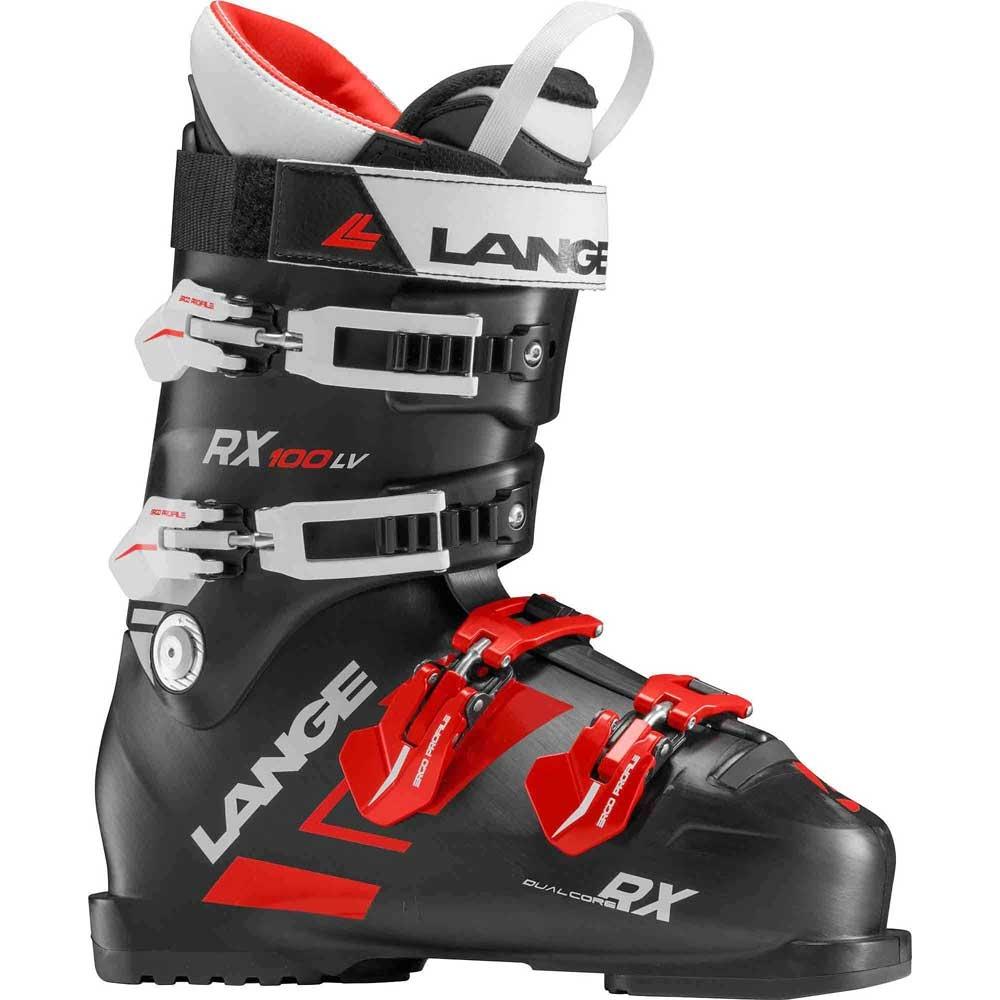 Lange RX 100 LV Ski Boot Black/Red 2019