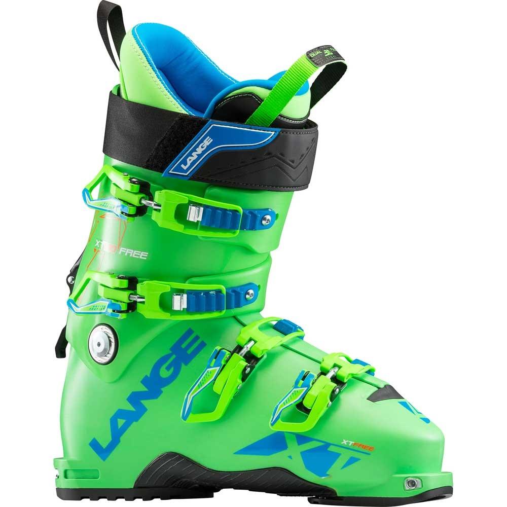 Lange XT 130 Free Ski Boot Green 2019