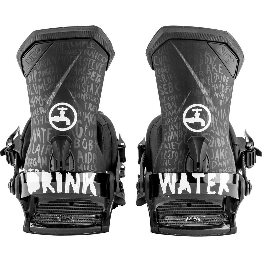 Nitro Team Snowboard Binding Nitro x Drink Water 2019