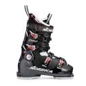 Nordica Pro Machine 95W Ski Boot Black/Wine Bordeaux 2019