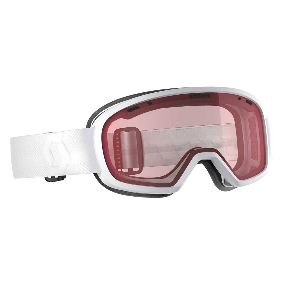 Scott Muse White Womens Goggle with Enhancer Lens 2019