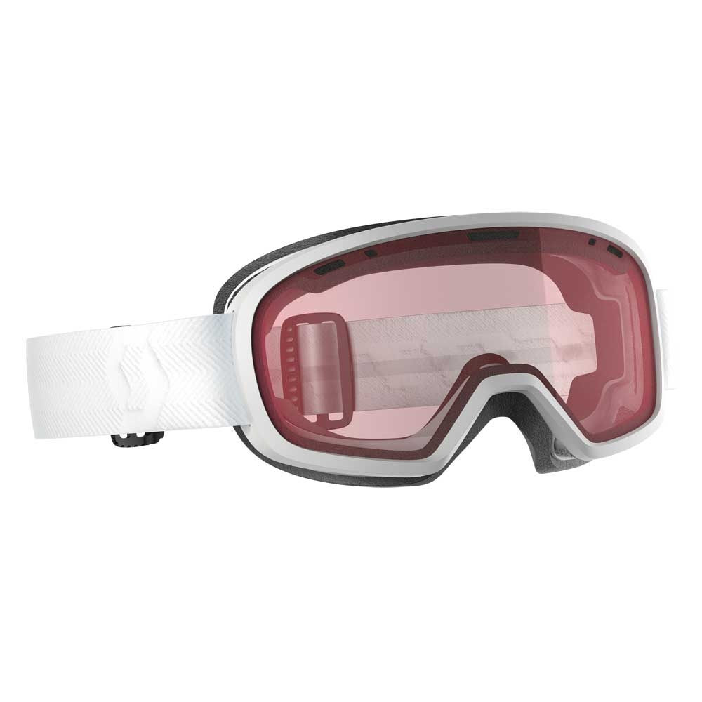 Scott Muse Pro OTG White Womens Goggle with Enhancer Lens 2019