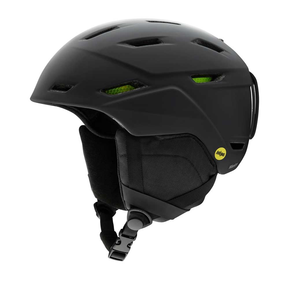 Smith Mission MIPS Helmet Matte Black 2019