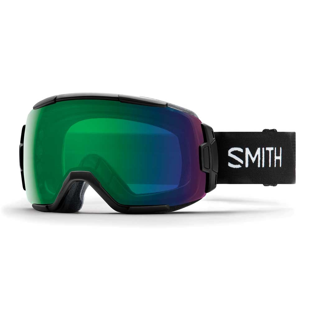 Smith Vice Black Goggle with Everyday Green Mirror Chromapop Lens 2019