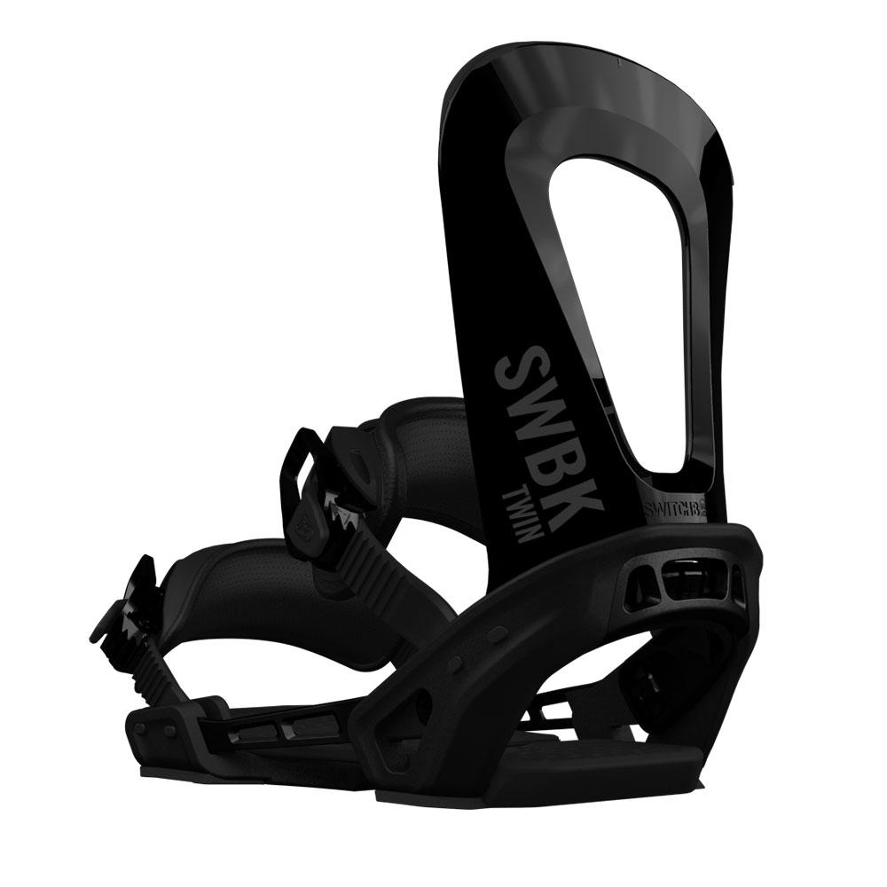Switchback Twin Snowboard Binding Black 2019