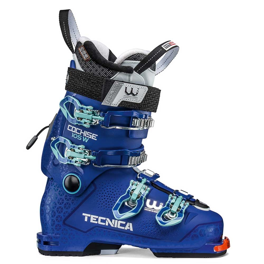 Tecnica Cochise 105 DYN Womens Ski Boot Bright Blue 2019